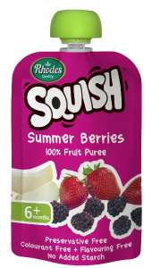 Summer Berries Puree