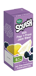 100% Pear + Prune Juice