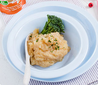 Butternut and Carrot Mashed Potatoes