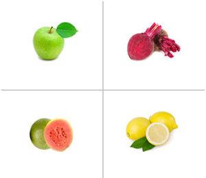 Apple, Beetroot + Guava