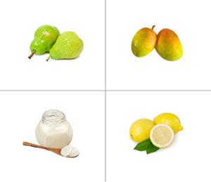 Pear, Mango + Yoghurt