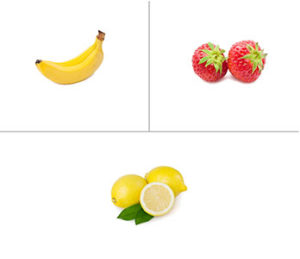 Banana + Strawberry