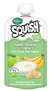 Apple, Banana + Yoghurt